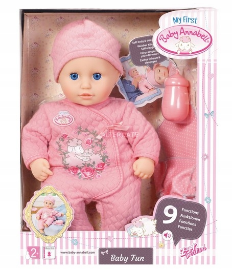Baby Annabell Fun Interactive Doll ZAPF My First
