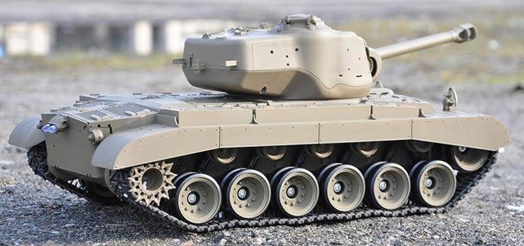 RC tank 1:16 - M26 Pershing ASG