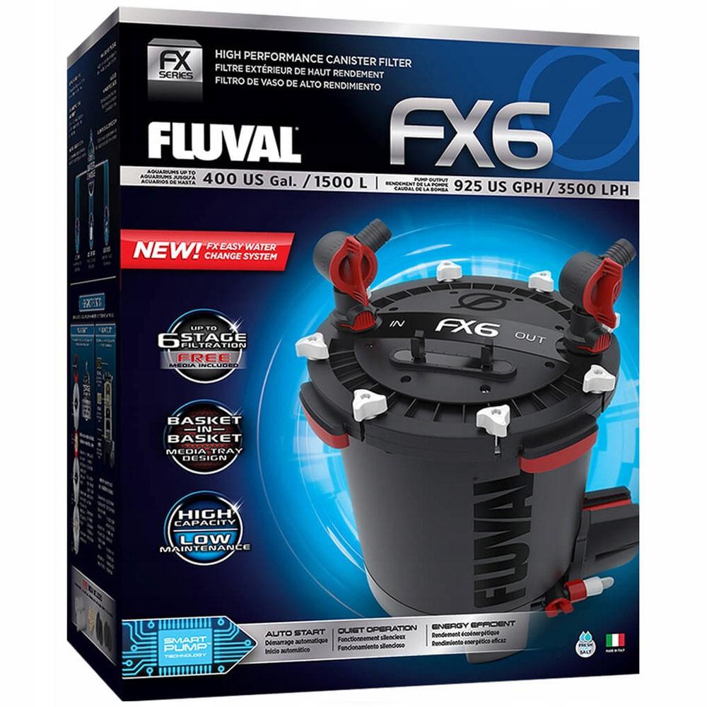 FLUVAL fx6 внешний фильтр 2300 л / ч + + + бесплатные! Вес продукта с единичной упаковкой 10 кг