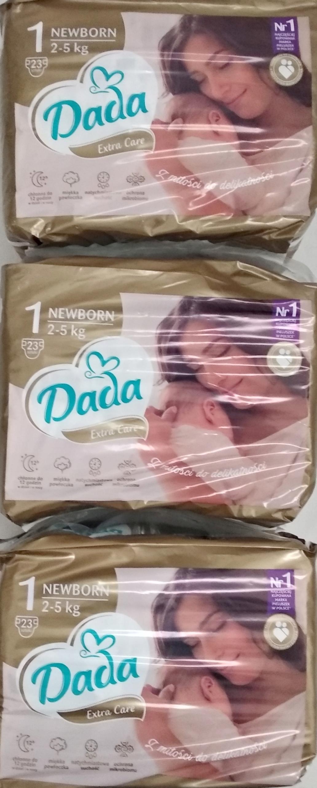 Паггерси Дада 1 Дополнительная помощь 1 новорожденный 2-5 кг 3x23