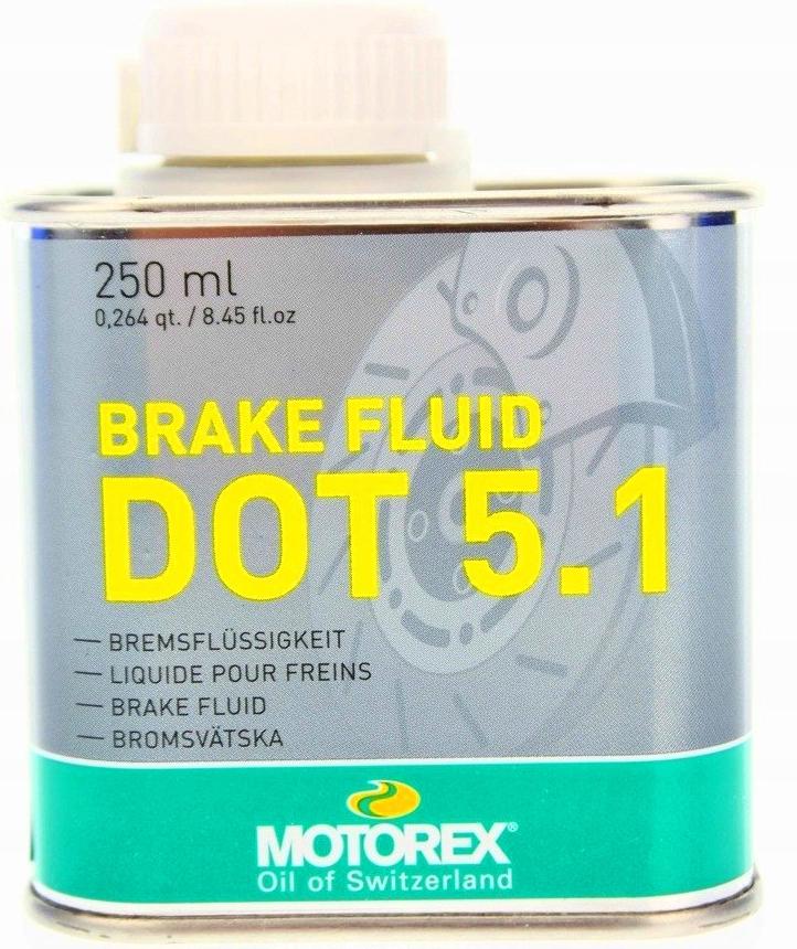 MOTOREX BRAKE FLUID DOT 5.1 250 мл