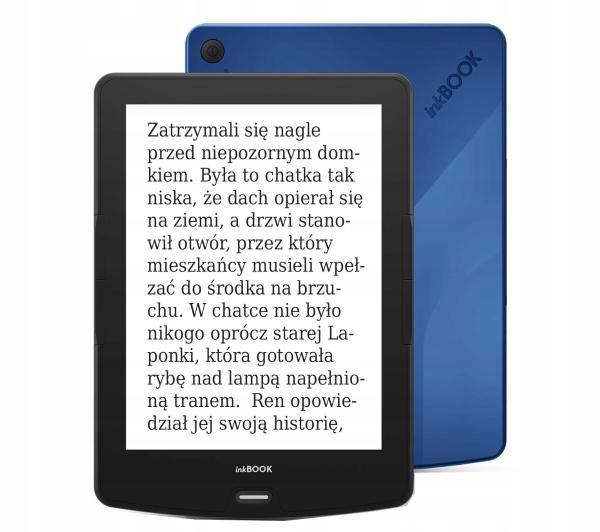 Czytnik E-booków inkBOOK Calypso 6'' Blue + Etui
