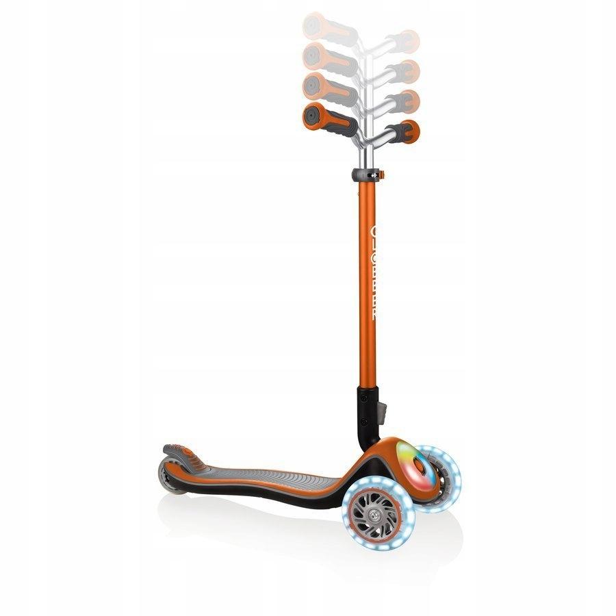 Hulajnoga 3-kołowa Globber Elite Prime Pomarańcz EAN 4897070184886