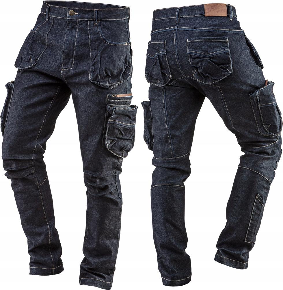 NEO брюки рабочие ДЖИНСЫ размер XL/54 DENIM