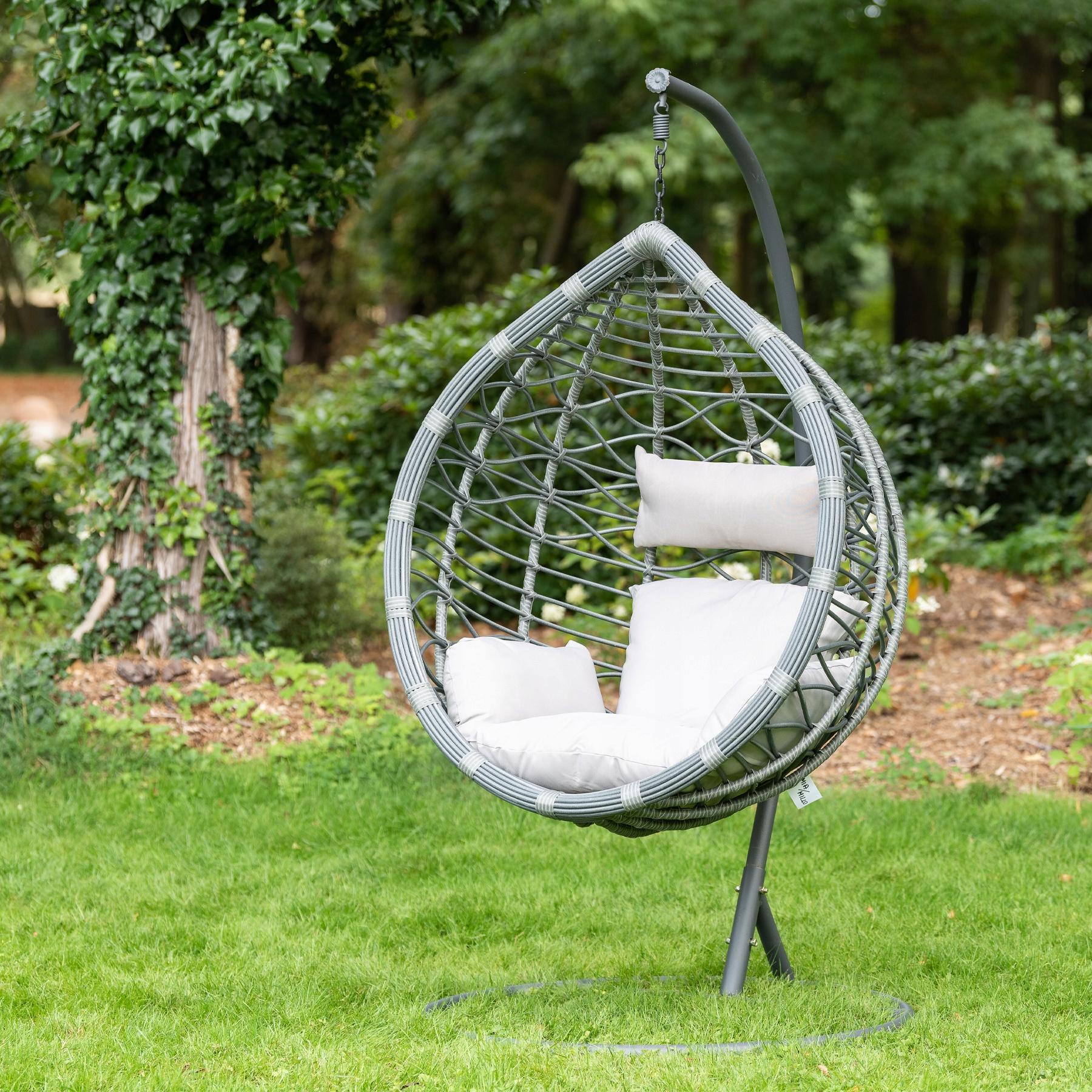 Záhradné kreslo, zavesený hojdací kokonový kôš Moderný štýl