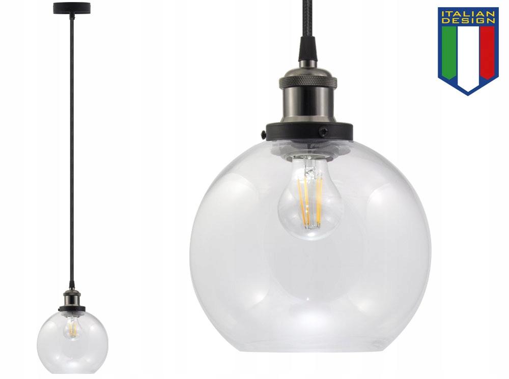 LAMPA SUFITOWA SZKLANA VASO OX ŻYRADNOL LED LOFT B Długość/wysokość 140 cm