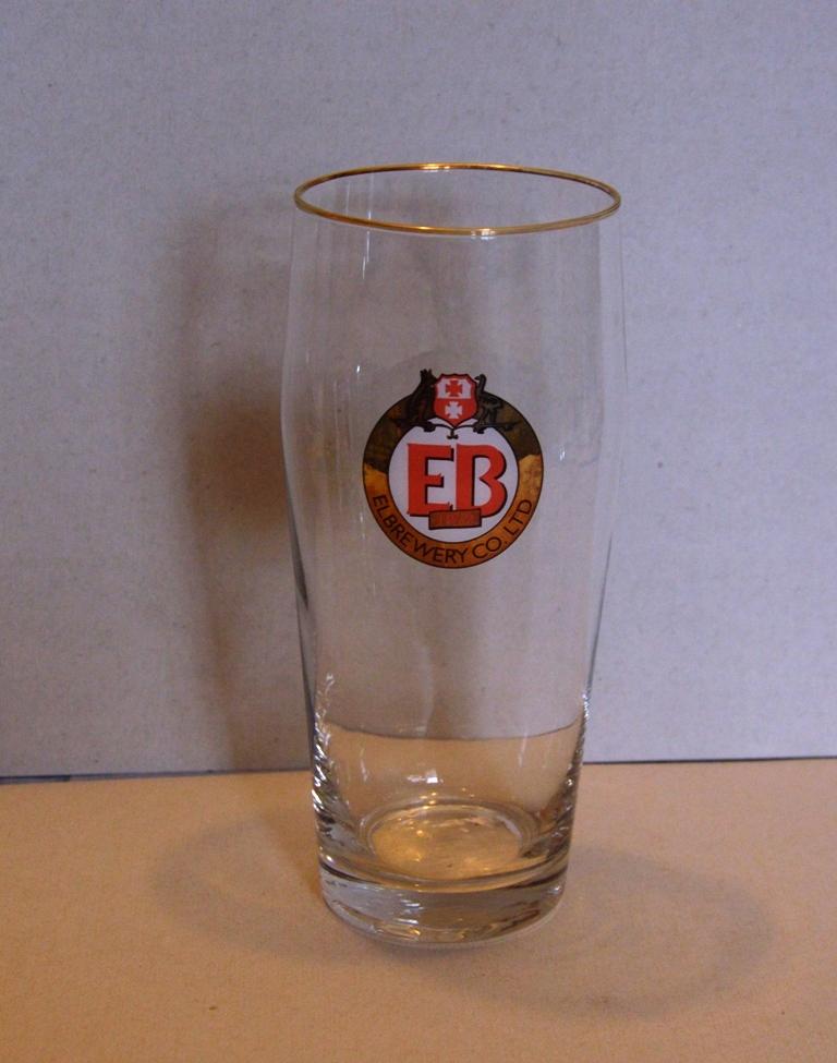 Browar Elbląg , EB lata -90 te, szklanka-0,5L