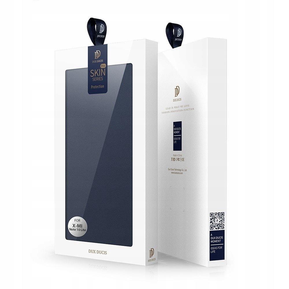 Etui DUX DUCIS do Xiaomi Mi Note 10 Lite Niebieski Materiał skóra ekologiczna