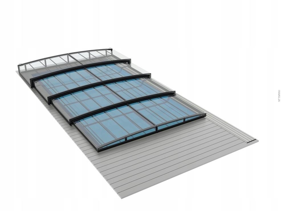 КРОВЕЛЬНЫЙ бассейн COMFORT R1 одна направляющая 10.29x5.25