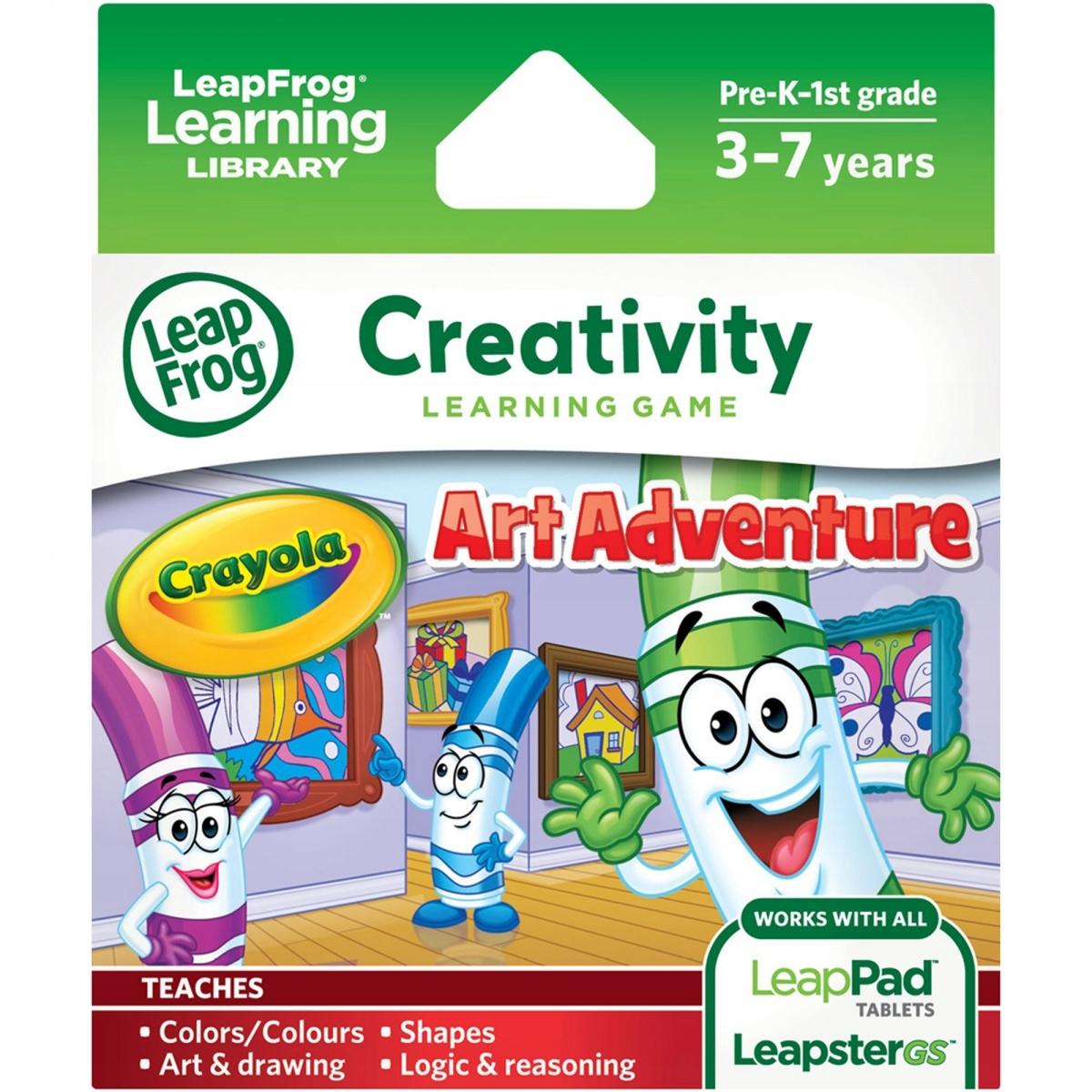 Leapfrog hra Learning Library Crayola Art Adventur