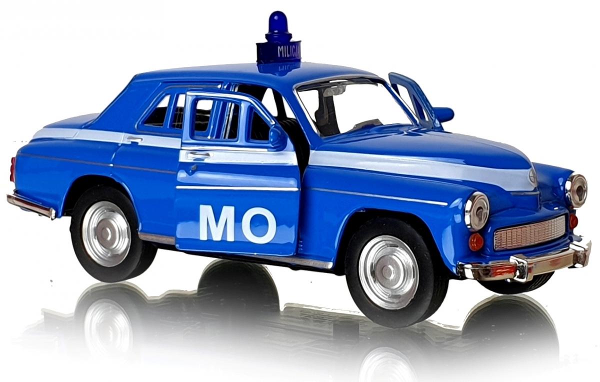 WARSAW MO Auto MILICJA 1:34 Автомобиль Welly PRL