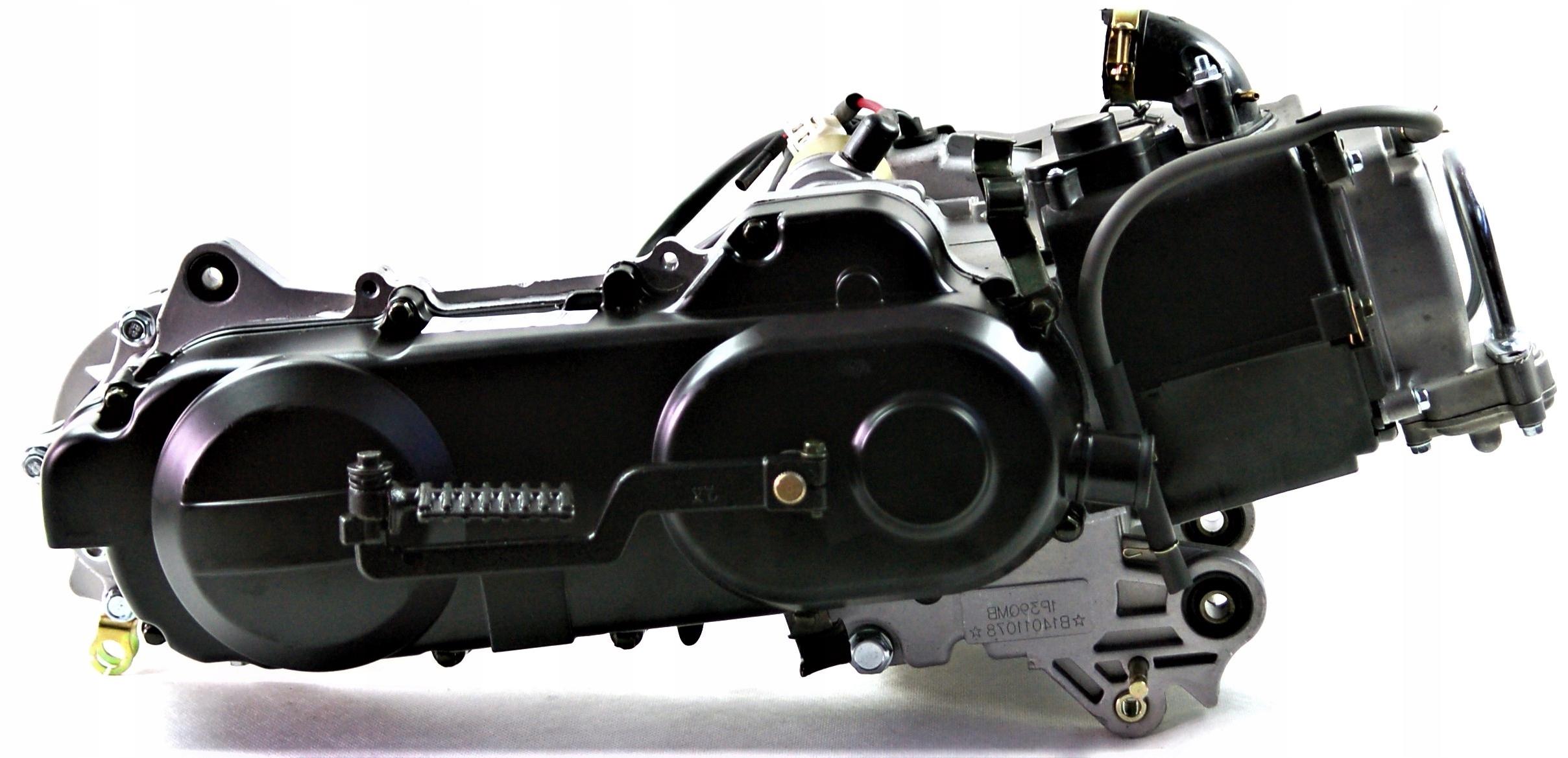 Двигатель к skutera moretti 50cm 4t barton romet, фото 3
