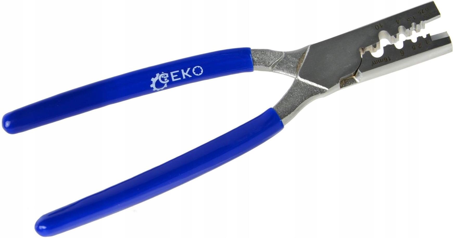 Krimpovací nástroj pre káblové návleky 0,5-16mm2 ROBUST