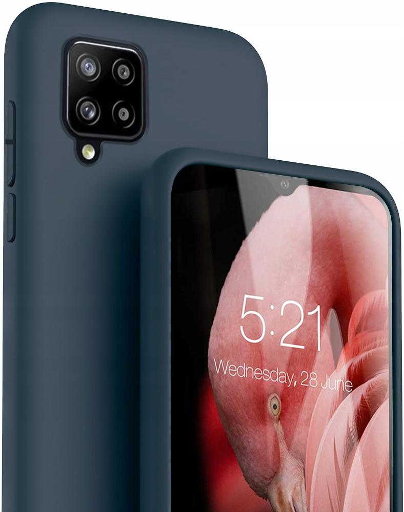 Etui do Samsung Galaxy A42 5G Case Silikon + Szkło