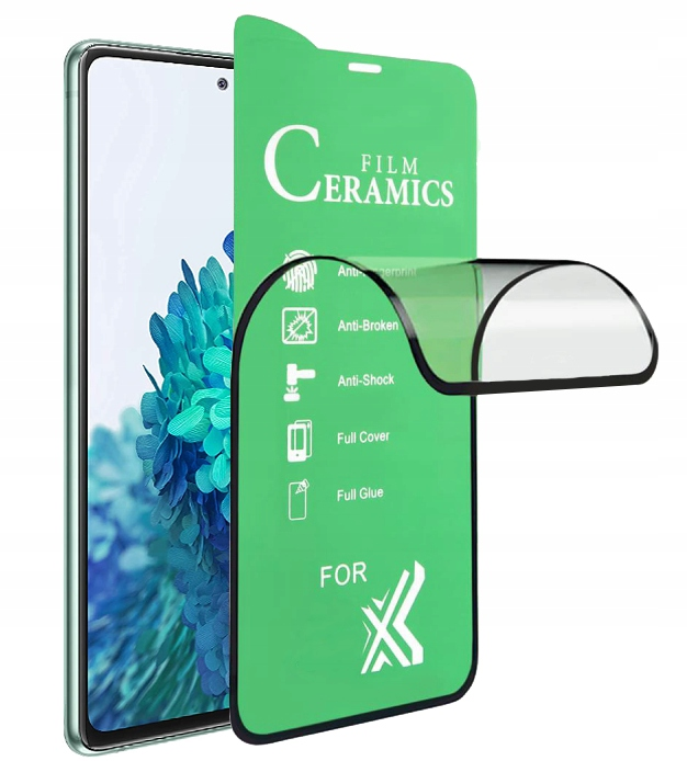 Szkło do Samsung Galaxy S20 FE Hybrydowe Pełne