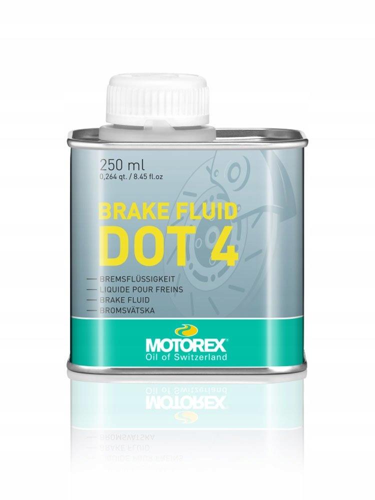 Тормозная жидкость Motorex 250 мл Dot 4