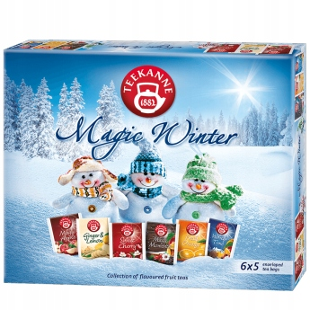 Teekanne Magic Winter Herbaty 6x5 saszetek