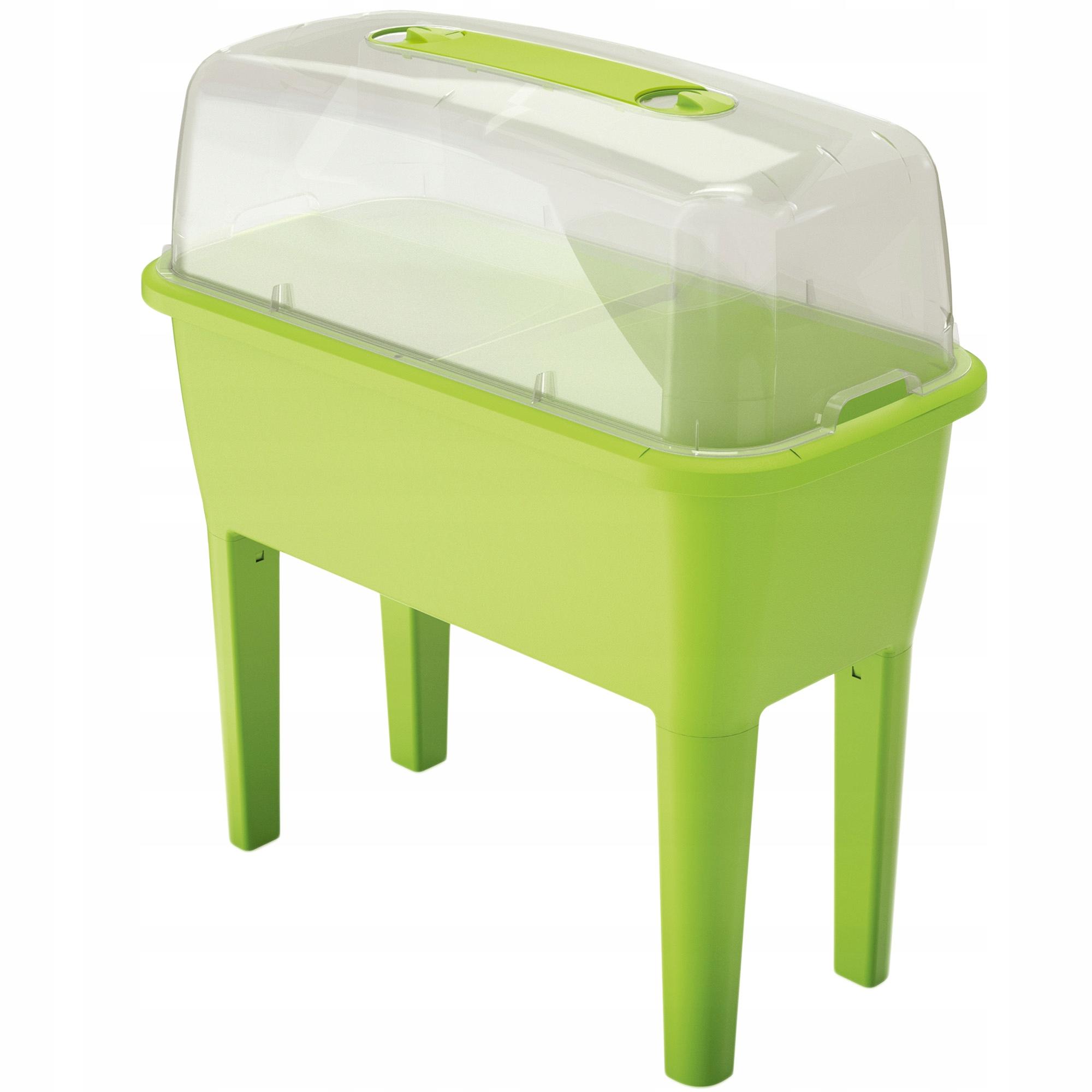 Greenhouse Balkón Skontrolujte s veľkým zeleným hrncom