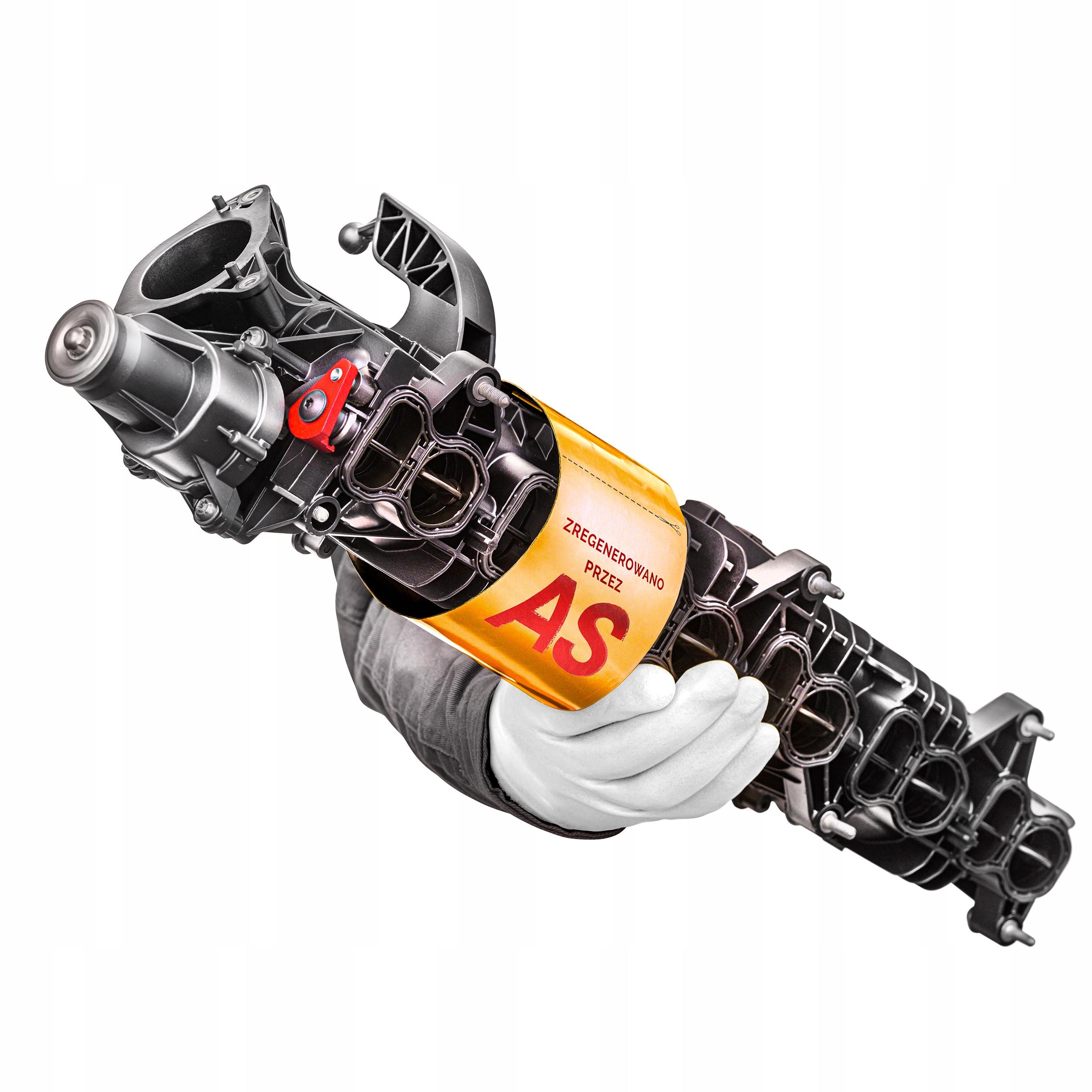 усиленный коллектор всасывающий bmw 30d n57 11617811909