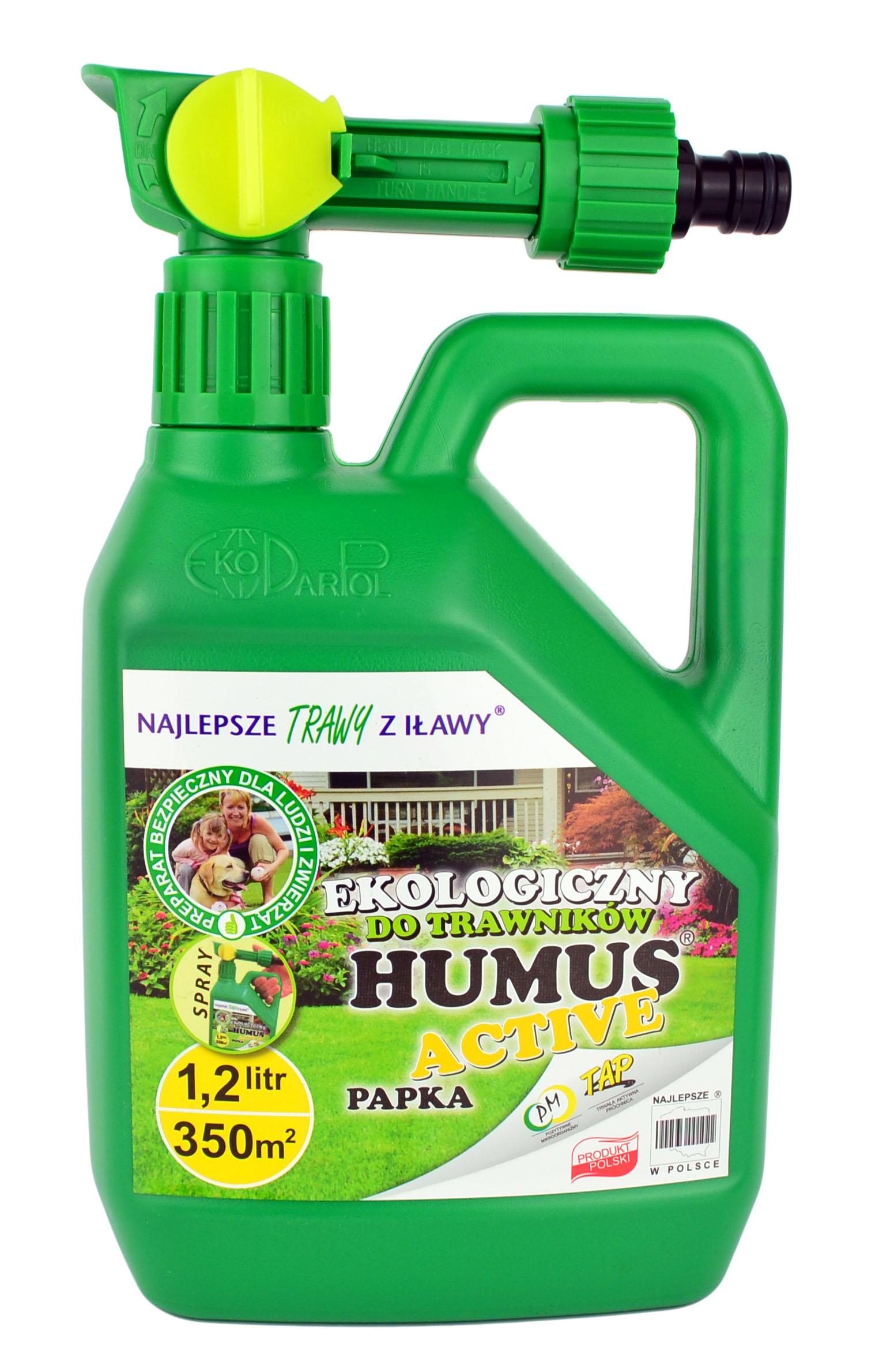 Хумус Active Спрей для Газонов Травы 1,2 Л Удобрение