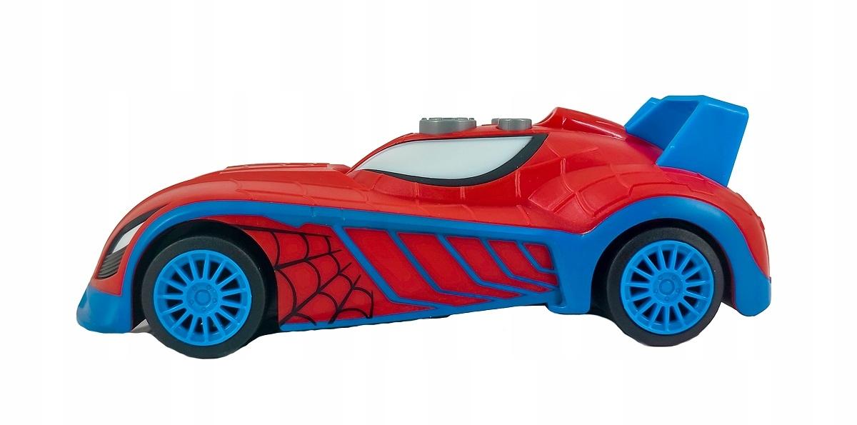SPIDERMAN AUTO ŚWIATŁO DŹWIĘK NAPĘD BLAZE RACERS Marka Marvel