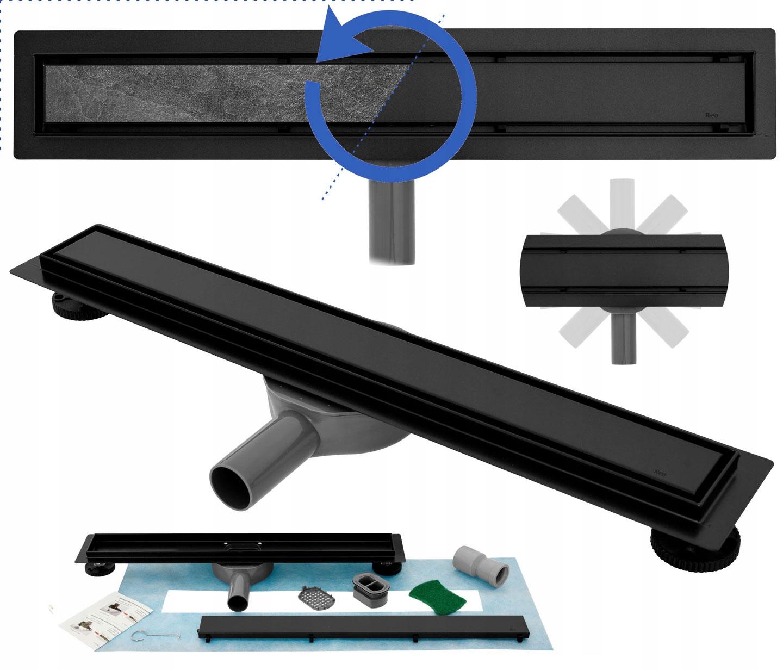 BLACK Drain Lineárny drenáž NEO 2v1 Pro 80