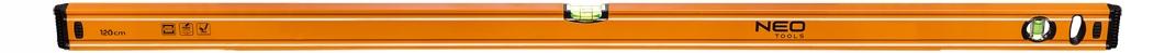 Hliníková úroveň 120 cm 2 libelle neo 71-065