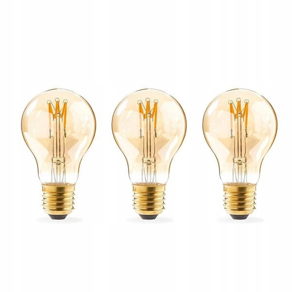 LED žiarovka Nedis Retro Filament E27 | A60 | 3