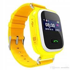 SmartWatch dziecięcy Q80 żółty