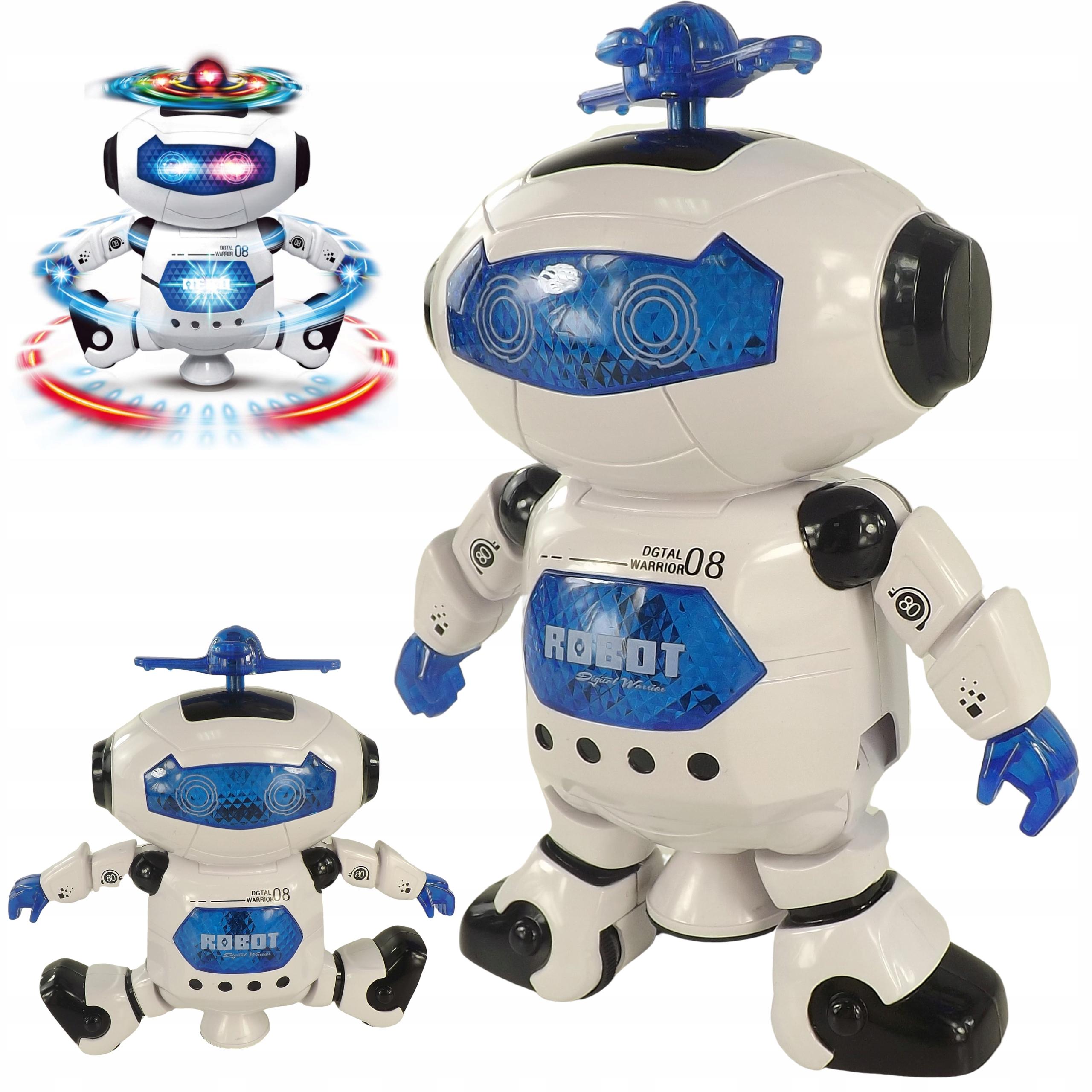 Tańczący robot interaktywny jeździ dźwięki 44-2