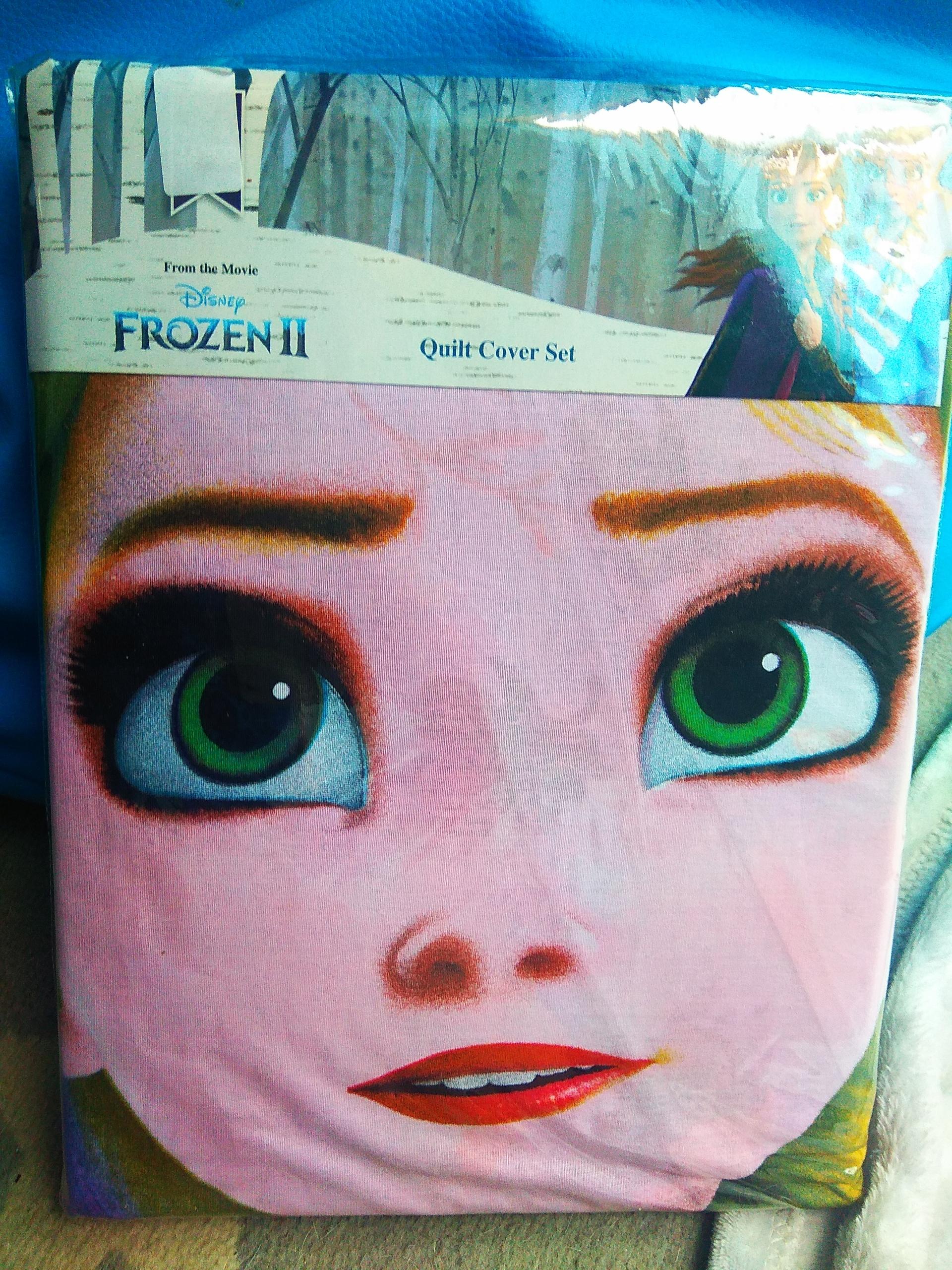 Sada obliečky na paplón Disney Frozen 2 160/200 + 70/80
