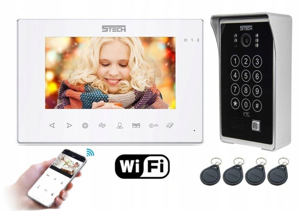 Wideodomofon Videodomofon WiFi 5TECH TELEFON DIN