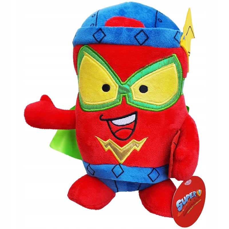 Maskot SUPER ZINGS Plyšová hračka Superzings KID FURY