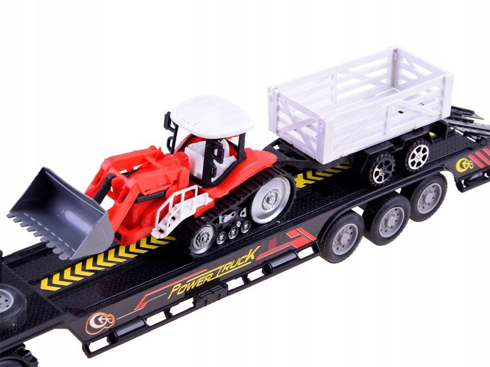 Tir Laweta + Traktor z Przyczepą Zestaw R/C RC0208 Bohater brak
