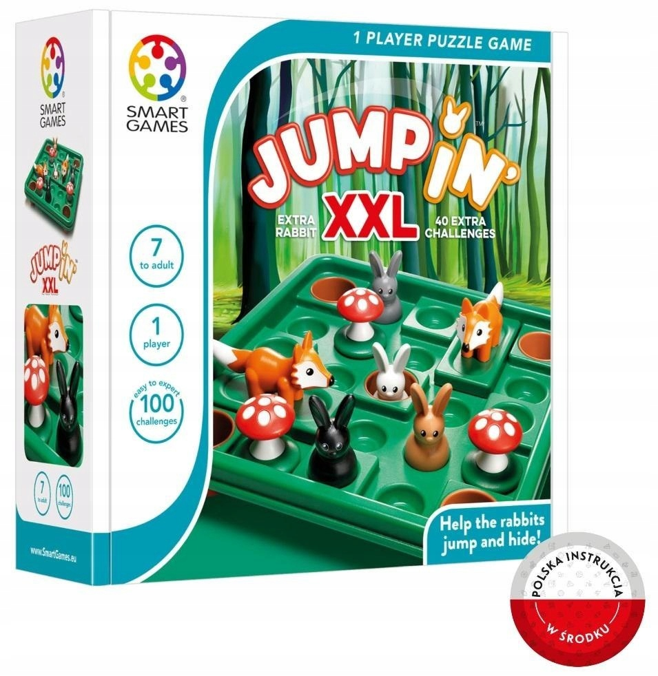 Smart hry Jump In XXL (ENG) IUVI hry
