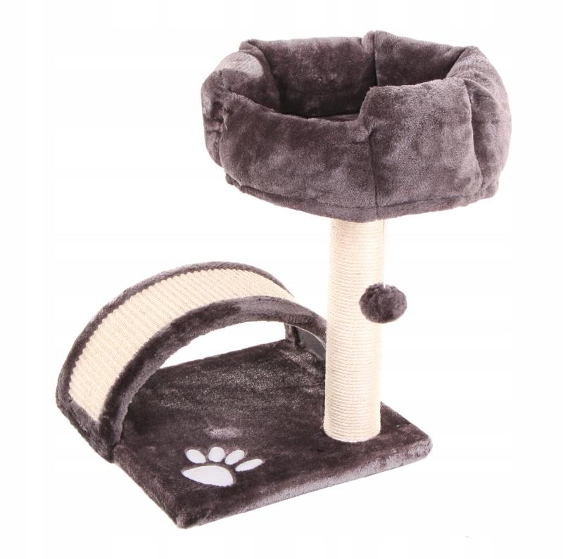 Когтеточка для кошек мягкая кровать игрушка мяч