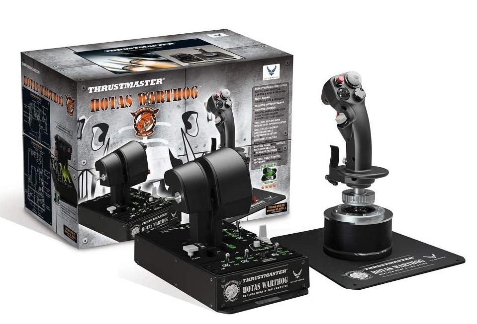 Joystick Thrustmaster Hotas Warthog + Przepustnica 9953728336 - Sklep internetowy AGD, RTV, telefony, laptopy - Allegro.pl