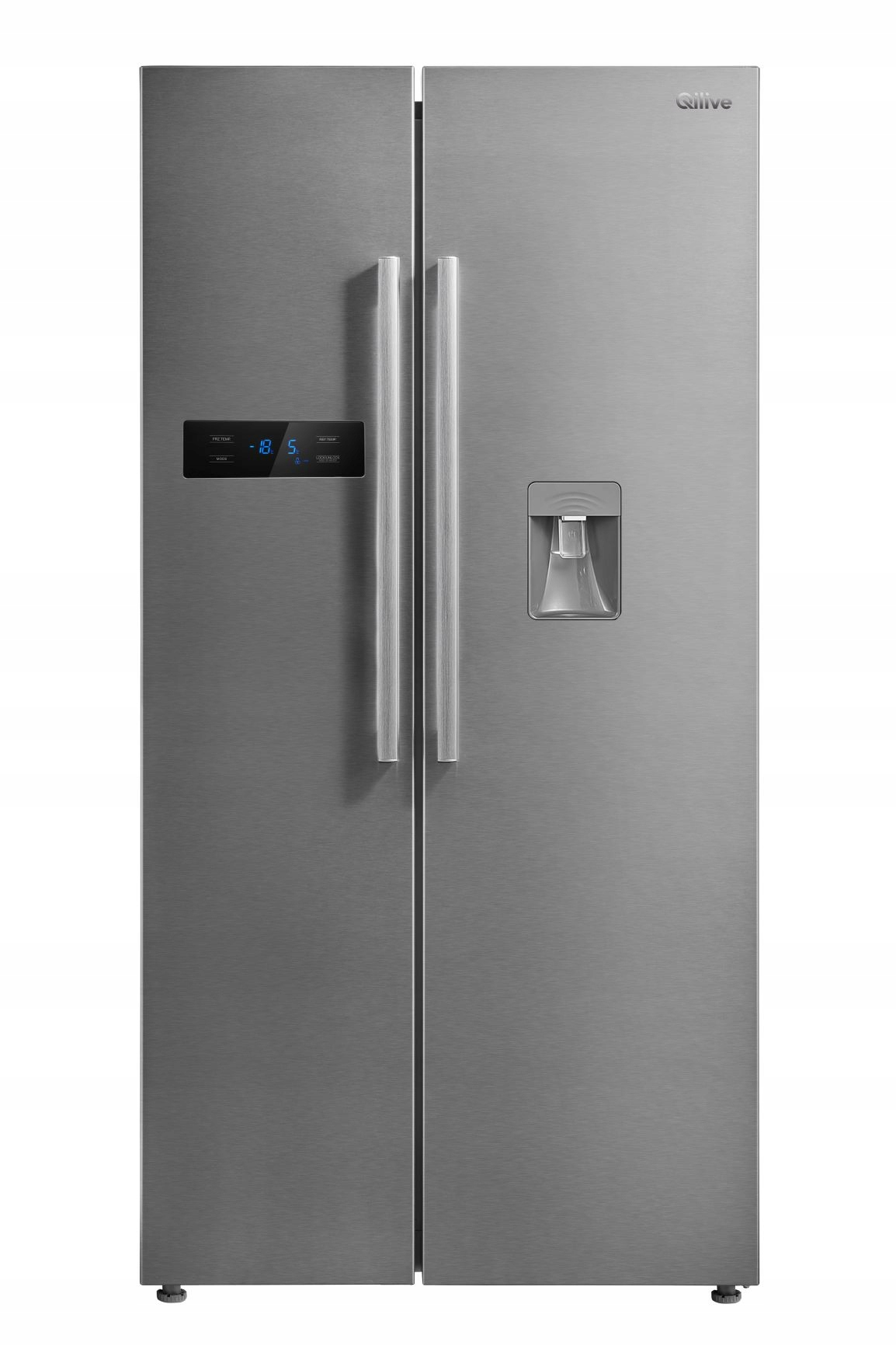 Item QILIVE refrigerator Side by Side 6517 A+ No Frost, 510l