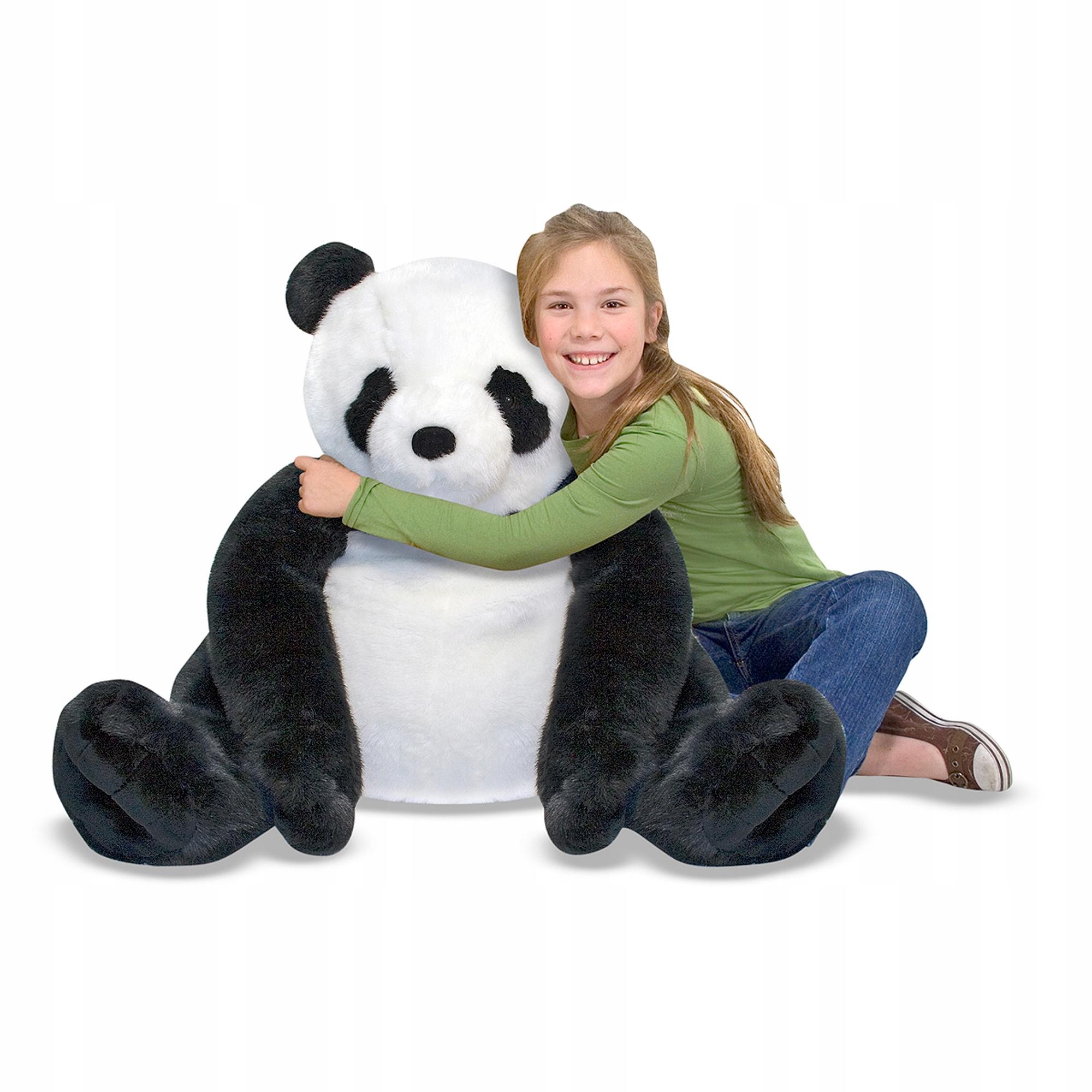 Plyšová hračka Panda pre deti maskot MelissaDoug