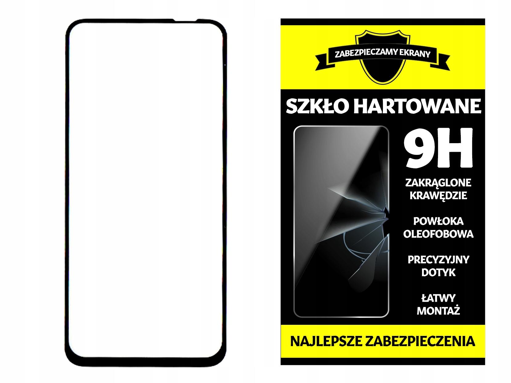 Szkło Hartowane na Cały Ekran do Huawei P40 Lite
