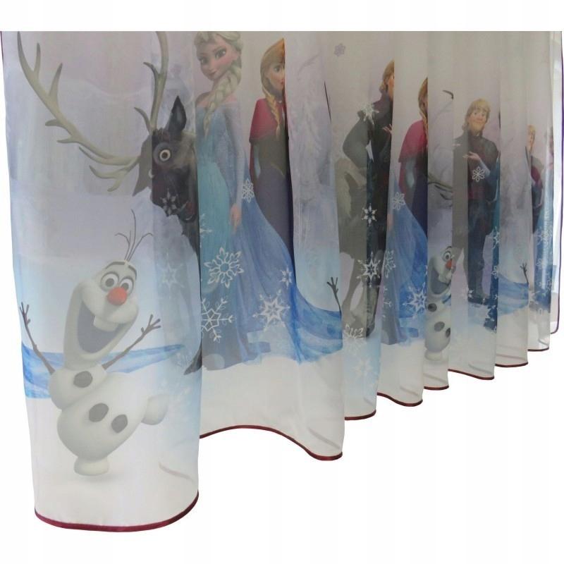 Детская штора Frozen, зима 1 шт. = 80 см