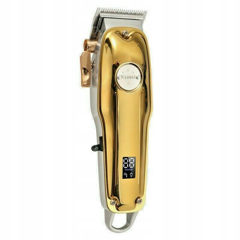Zlatý retro zastrihávač vlasov