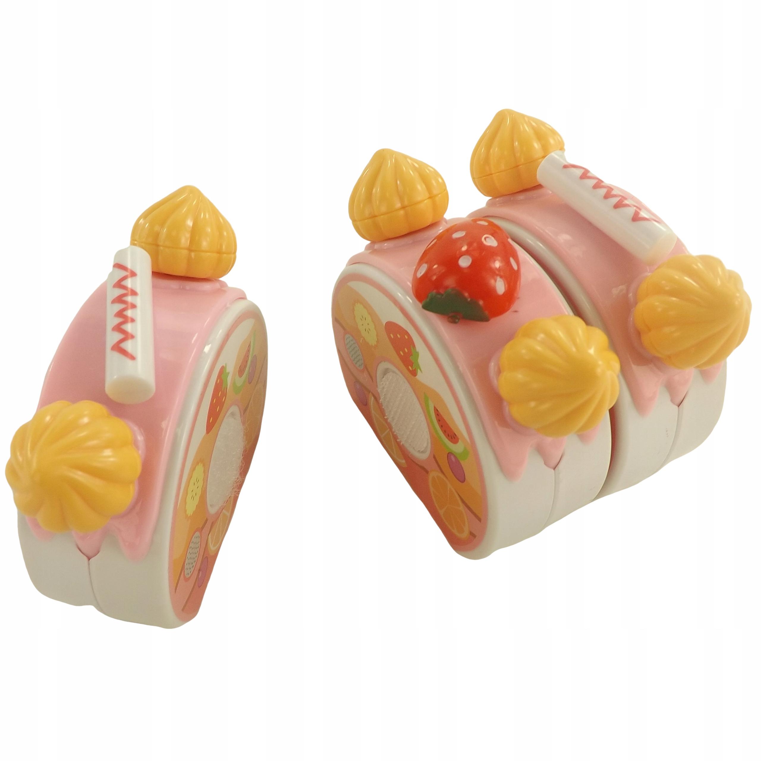 TORT URODZINOWY DO KROJENIA NA RZEPY 75 EL 889-19R Głębokość produktu 15 cm