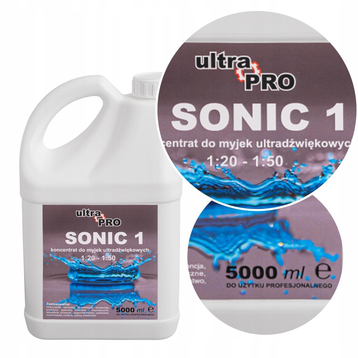 SONIC жидкость концентрат для ультразвуковой очиститель 5l.