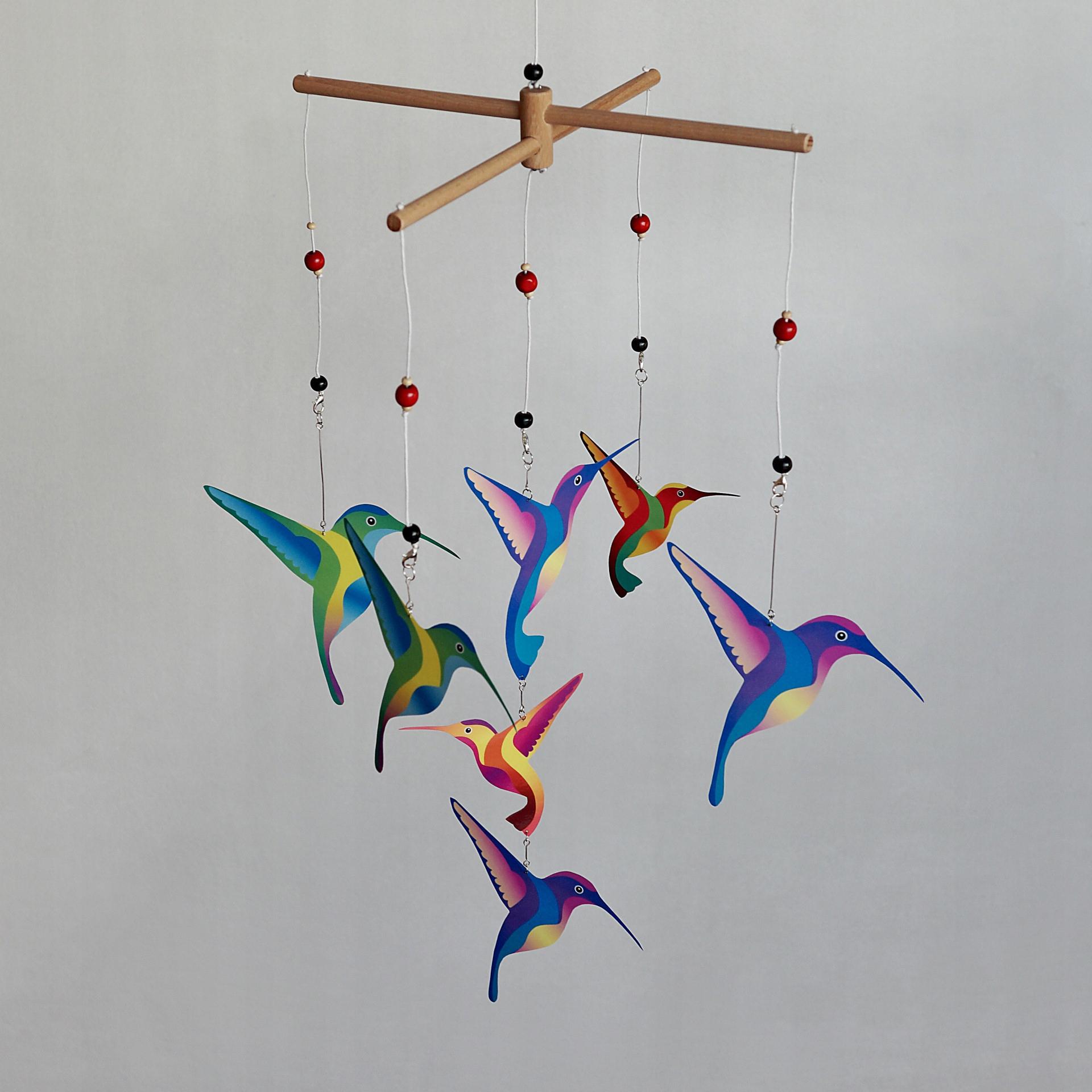 Mobil Montessori - vymeniteľný kolotoč kolibríkov