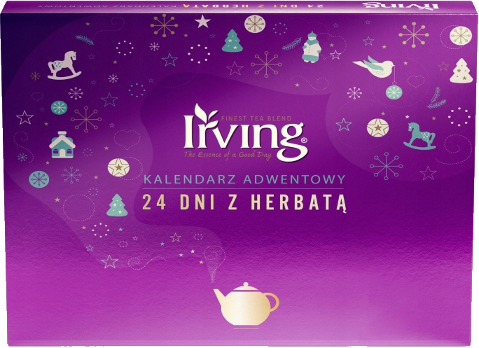 Kalendarz Adwentowy Irving 24 Dni Z Herbata 2020 9654759818 Allegro Pl