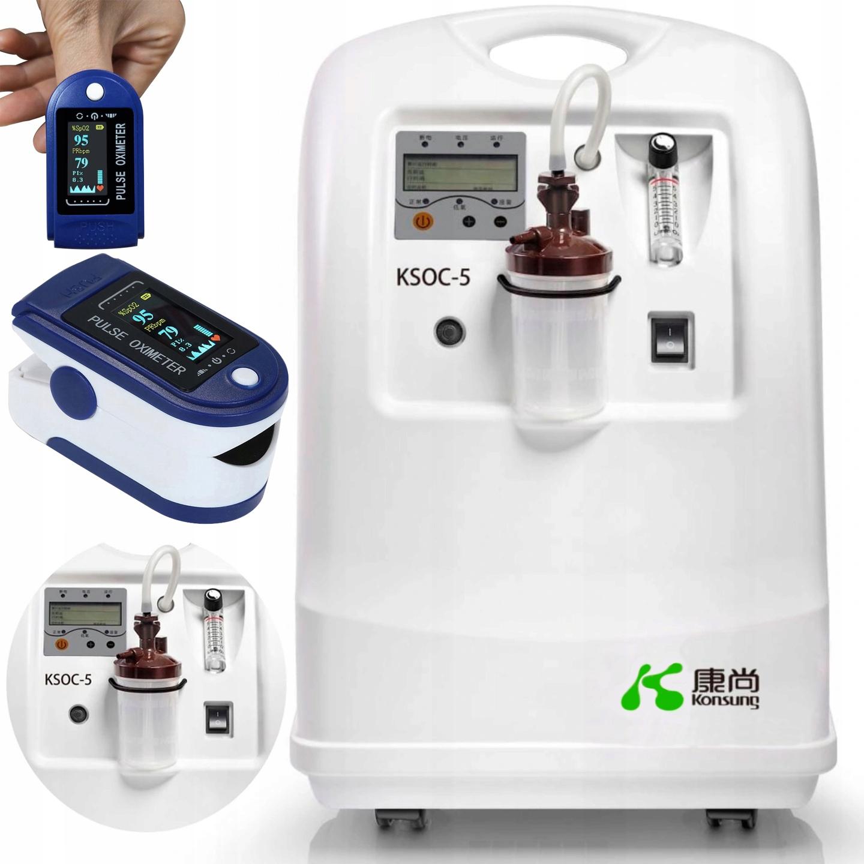 Koncentrátor kyslíka Zhorší 5 lekárskych