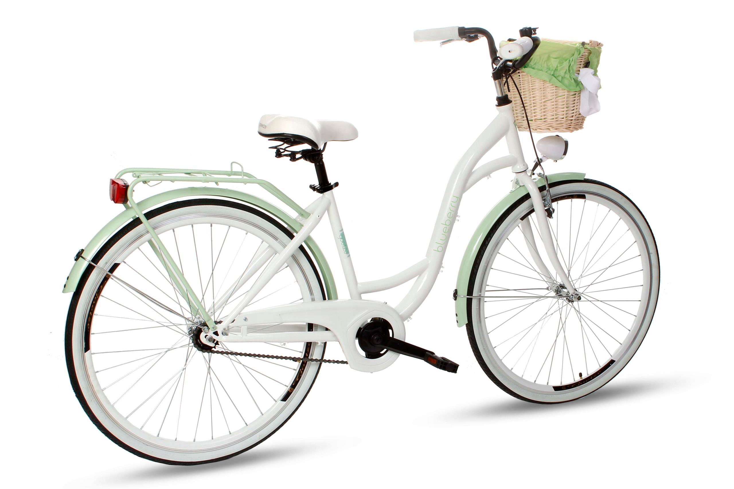 Dámsky mestský bicykel Goetze BLUEBERRY 28 košík!  Model čučoriedok 28.