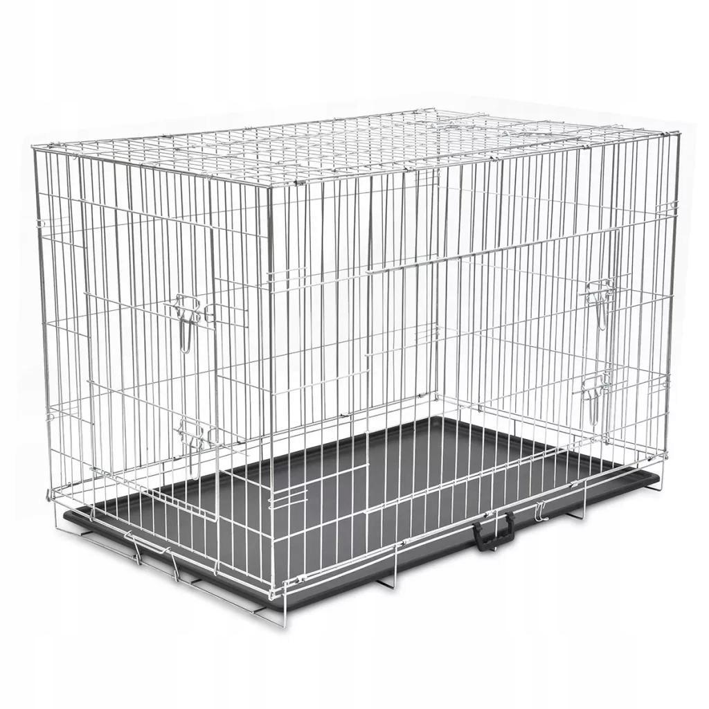 Skladacie kovové klietky pre psov, veľkosť XXL