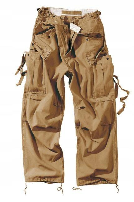 Nohavice Polícia PREBYTOK VINTAGE M65 Khaki S